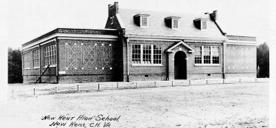New Kent High School 1935