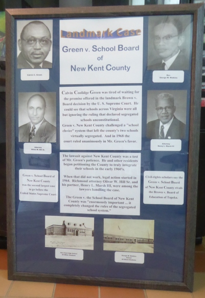 Green v. School Board of New Kent County Poster1