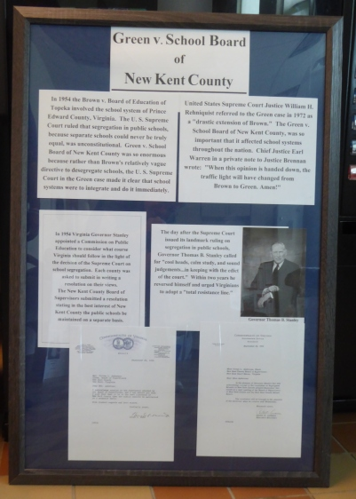Green v. School Board of New Kent County Poster2