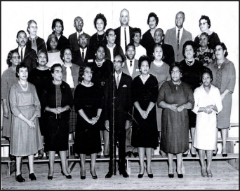 Staff of George W. Watkins – Year Unknown